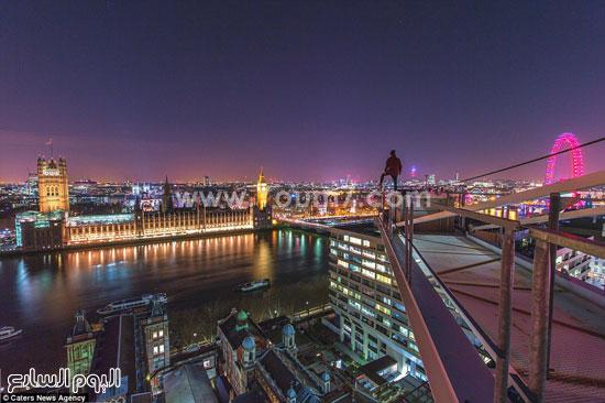 عجلة لندن الساحرة فى الليل  -اليوم السابع -10 -2015