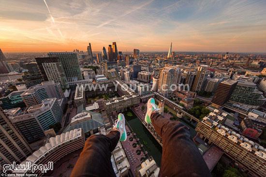 صورة من قمة أحد الأبراج  -اليوم السابع -10 -2015