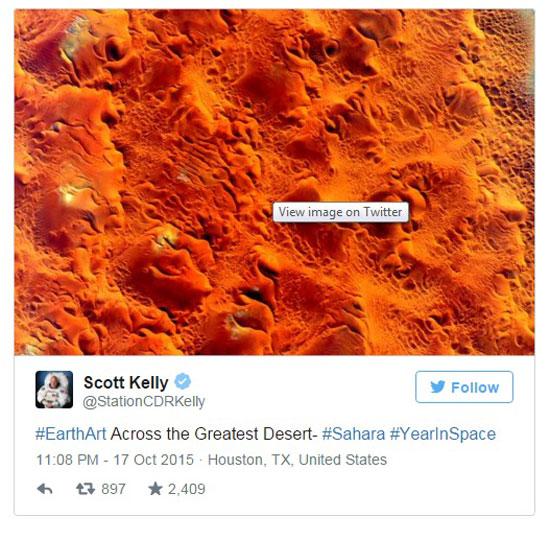 جانب من الصحراء الكبرى  -اليوم السابع -10 -2015