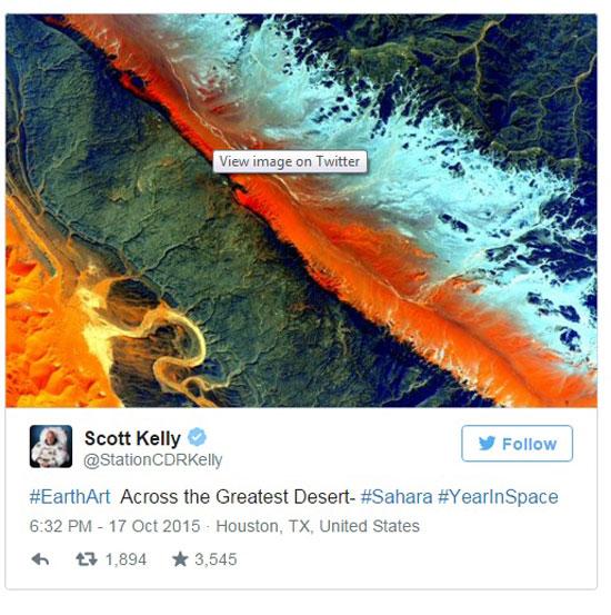 صور من محطة الفضاء الدولية  -اليوم السابع -10 -2015