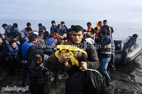 رحلات المهاجرين المحفوفة بالمخاطر  -اليوم السابع -10 -2015