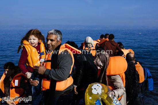 يلقى يوميا عشرات المهاجرين حتفهم فى تلك الظروف السيئة  -اليوم السابع -10 -2015