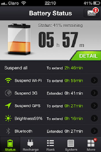 تطبيقات للـ آى فون لإطالة عمر البطارية