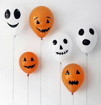 فكرة بسيطة باستخدام البالونات وقلم أسود -اليوم السابع -10 -2015
