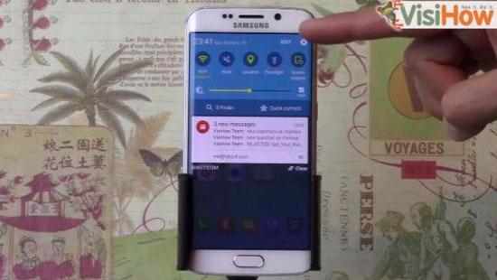 بالخطوات..معرفة التطبيقات التى تتجسس على Galaxy S6 Edge
