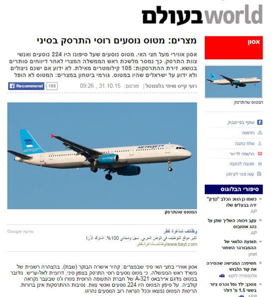 جانب من تقرير يديعوت أحرونوت -اليوم السابع -10 -2015