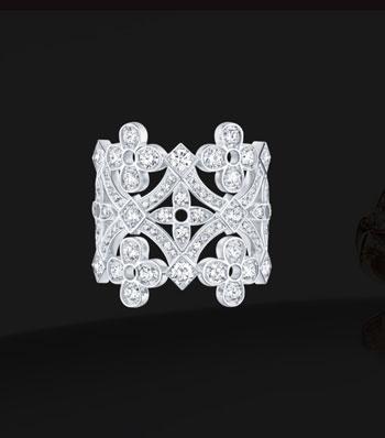 مجموعة مجوهرات louisvuitton الجديدة