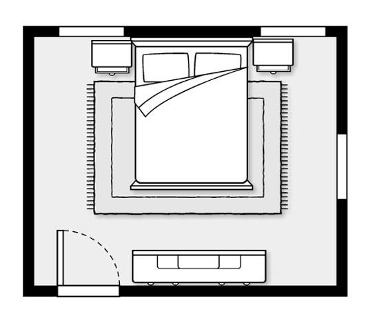 Bedroom Layout For Good Feng Shui