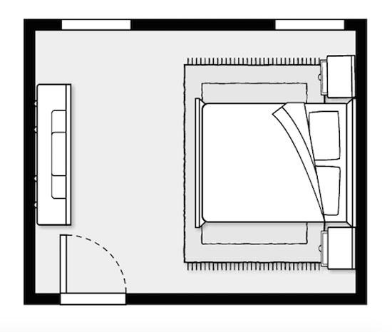 Feng Shui Bedroom Layout Mirror