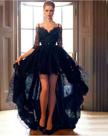 2140ac9d7 الفساتين السوداء موضة 2016..ضُمى واحدا منها إلى دولابك الآن - اليوم ...