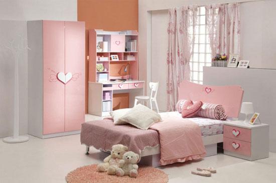 غرفة نوم وردية أنيقة -اليوم السابع -11 -2015