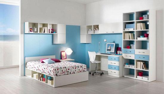 بالصور غرف نوم للبنات تحت العشرين الألوان المشرقة والبساطة سر