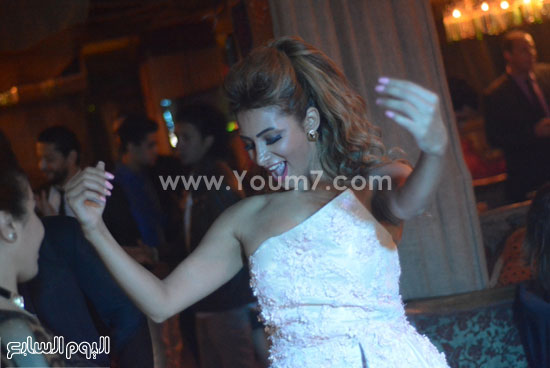 رقص انجى خطاب -اليوم السابع -11 -2015