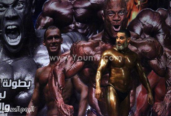 جانب من مسابقة كمال الأجسام -اليوم السابع -11 -2015