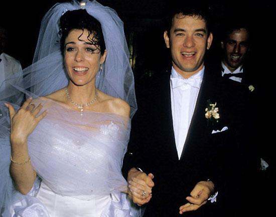 صورة من حفل زفاف ريتا وهانكس قبل 27 عامًا -اليوم السابع -11 -2015
