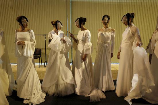 مجموعة من فساتين الزفاف التى صممتها ماريا كريستينا -اليوم السابع -11 -2015