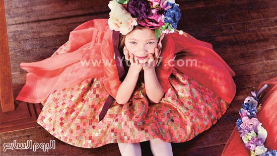 الفوشيا والوردى فى ملابس البنات  -اليوم السابع -11 -2015