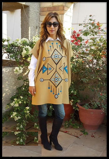 البنشوه يتصدر ملابس المحجبات  -اليوم السابع -11 -2015