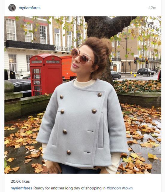 ميريام فارس فى لندن  -اليوم السابع -11 -2015