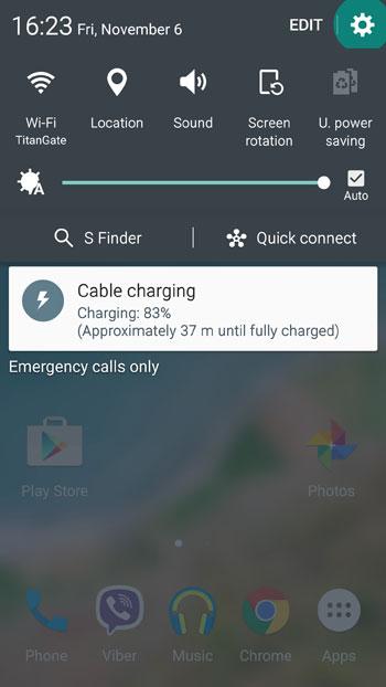 طريقة تغيير أوضاع ألوان الشاشة على هاتفىGalaxy S6 و Note 5