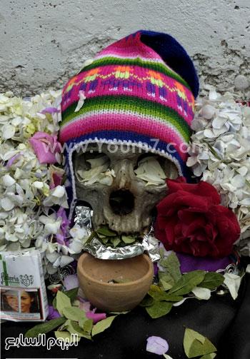 يوم الجماجم فى بوليفيا -اليوم السابع -11 -2015
