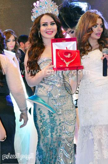 سلمي كمبوظ ملكة جمال العرب 2015