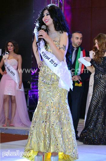 مريم جورج ملكة جمال مصر الفائزة بـ الوصيفة الثانية