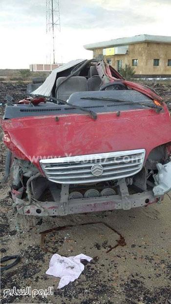 حادث تصادم كفر الشيخ (1)