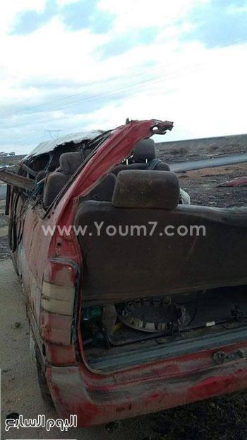 حادث تصادم كفر الشيخ (3)