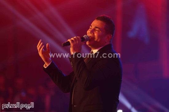 عمرو دياب حفل قنوات النهار (1)