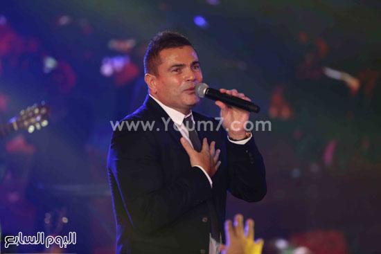 عمرو دياب حفل قنوات النهار (4)