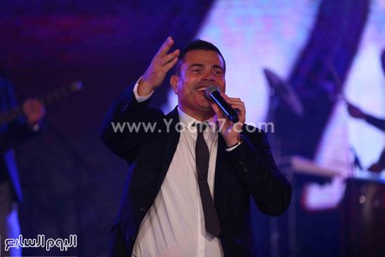 عمرو دياب حفل قنوات النهار (5)