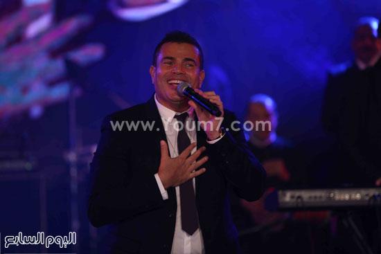 عمرو دياب حفل قنوات النهار (6)