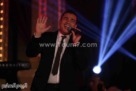 عمرو دياب حفل قنوات النهار (7)