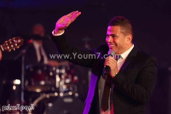 عمرو دياب حفل قنوات النهار (10)