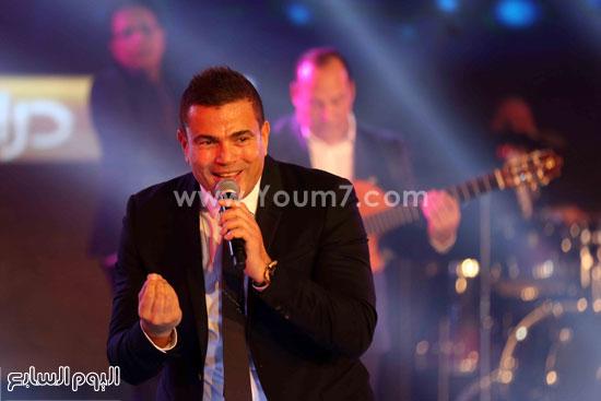 عمرو دياب حفل قنوات النهار (20)