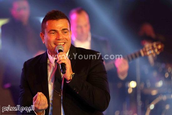عمرو دياب حفل قنوات النهار (21)