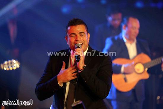 عمرو دياب حفل قنوات النهار (27)