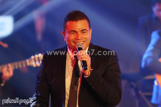 عمرو دياب حفل قنوات النهار (28)