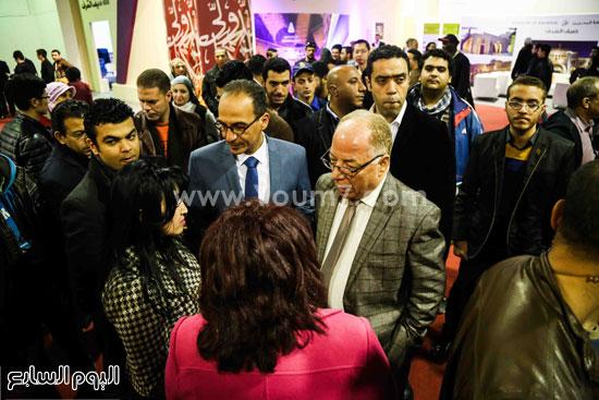 وزير الثقافه معرض الكتاب (1)