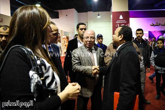 وزير الثقافه معرض الكتاب (2)