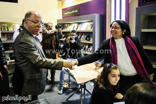وزير الثقافه معرض الكتاب (3)