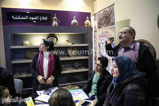 وزير الثقافه معرض الكتاب (4)