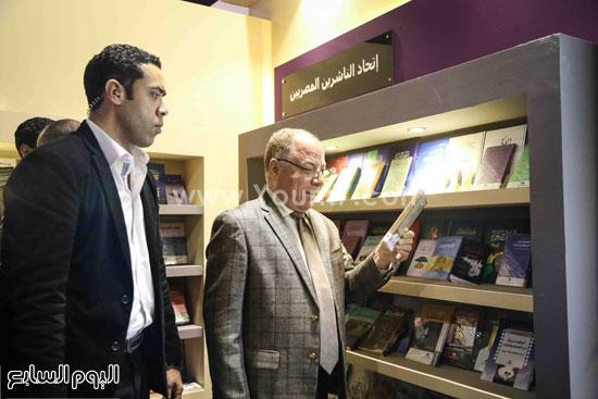 وزير الثقافه معرض الكتاب (5)
