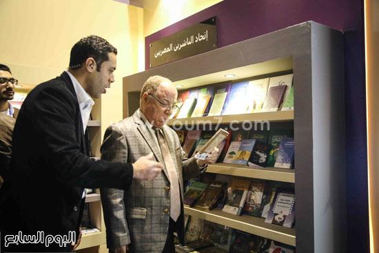 وزير الثقافه معرض الكتاب (6)