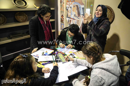 وزير الثقافه معرض الكتاب (9)