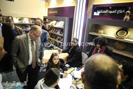 وزير الثقافه معرض الكتاب (10)