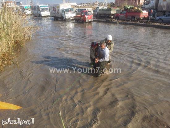 مواجهة غرق مدخل الإسكندرية (1)