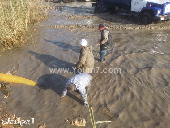 مواجهة غرق مدخل الإسكندرية (3)