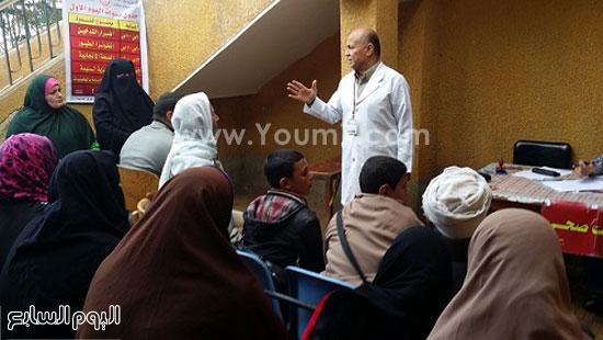 قافلة طبية بالدقهلية (2)